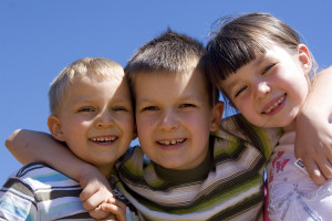 bigstockphoto_Children_On_Sky_709127